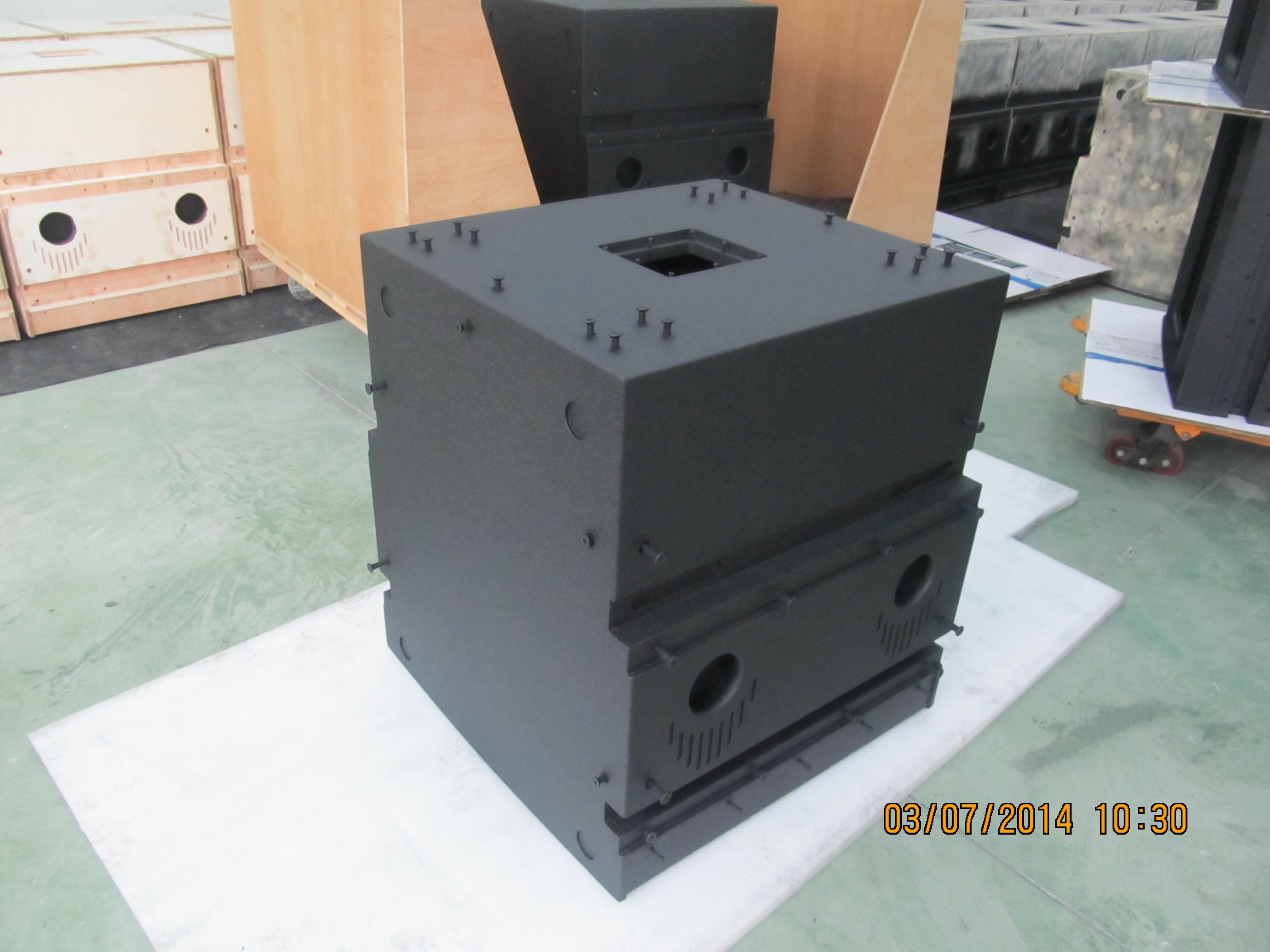 爱尔家佳聚脲音箱耐磨应用案例